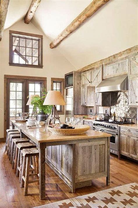 Rustic Chic Kitchen by 27 Vintage Kitchen Design With Rustic Styles Home Design