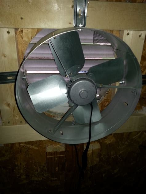 gable attic fan installation solar attic fans crucial information for buying and