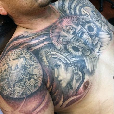 aztec pattern tattoo tumblr aztec tattoo patterns for men tattoos pinterest