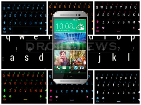 htc keyboard themes install colored keyboard themes on htc one m8