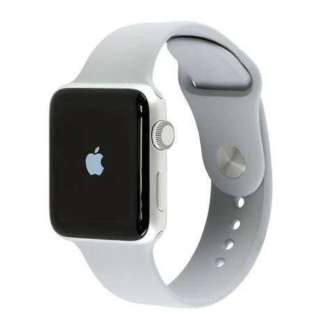Apple Series 3 Gps 38mm Silver Fog Sport Band Limited apple series 3 silver aluminium with fog sport band 38mm gps only costco uk