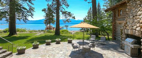 Rent Cabins In Lake Tahoe by Lakefront Vacation Rentals In Lake Tahoe Tahoe Getaways