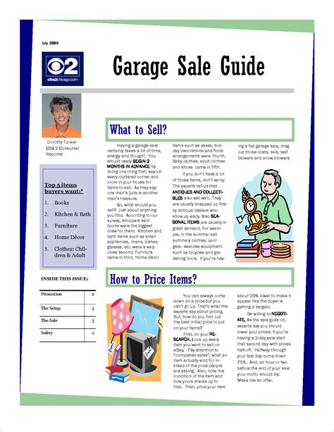 garage sale flyer template word pictures to pin on