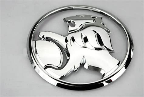 lion car symbol auto decoration 9 5cm metal 3d round lion logo car sticker