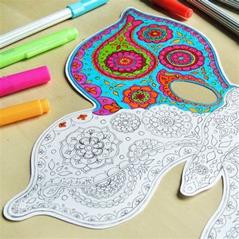 Gorgeous Paisley Things To Own by Make A Beautiful Butterfly Mask With These Free Printables
