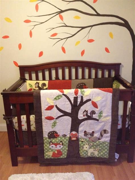 woodland creatures nursery bedding woodland animals baby bedding www imgkid com the image