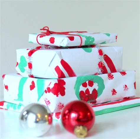 Handmade Gift Wrapping Paper - handmade painted wrapping paper