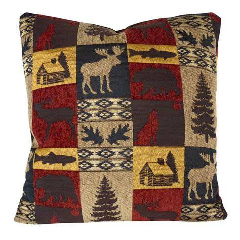 home design down pillow 22 best images about rustic lodge style decor on pinterest