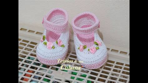 como hacer zapatitos tejidos para bebes youtube botitas o zapatitos tejidos a crochet para bebe youtube