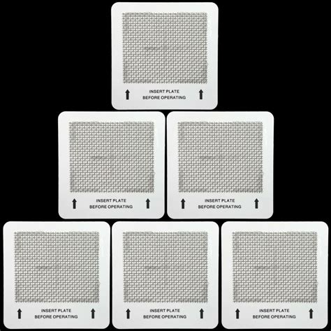 6 ozone plates for alpine ecoquest living air purifiers ebay