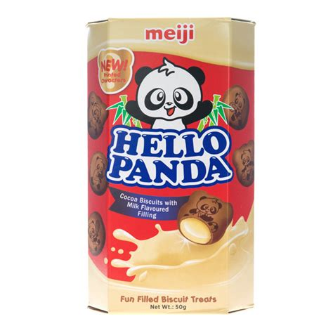 Meiji Hello Panda Biscuit japan centre meiji hello panda chocolate and milk