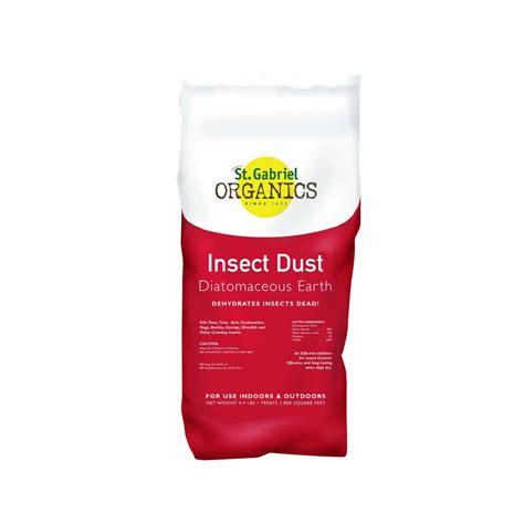 Garden Safe 4 Lb Diatomaceous St Gabriel Organics Insect Dust 4 4 Lb Diatomaceous