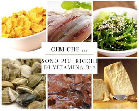 alimenti contengono b12 cibi sono pi 249 ricchi di vitamina b12 edo