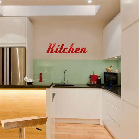 wall stickers kitchen kitchen retro vinyl wall sticker by oakdene designs