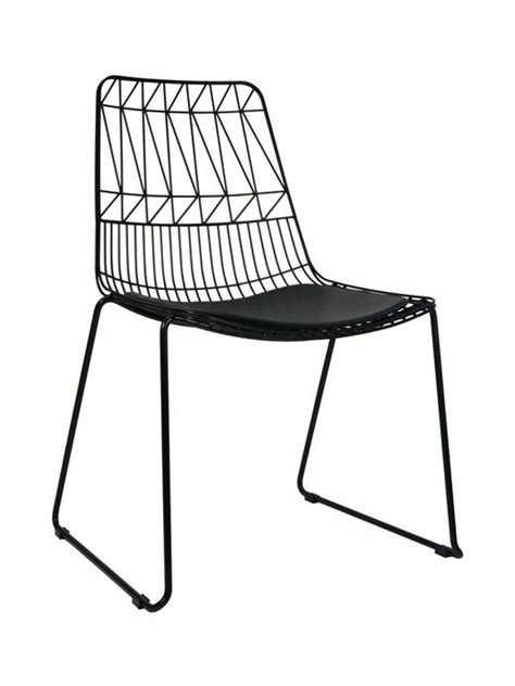 Metal Wire Dining Chairs by Best 10 Black Dining Chairs Ideas On
