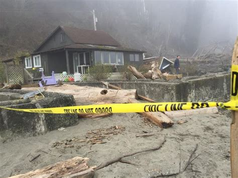 a whidbey island home is out of the box and grounded in nature more homes destroyed as whidbey island landslide continues