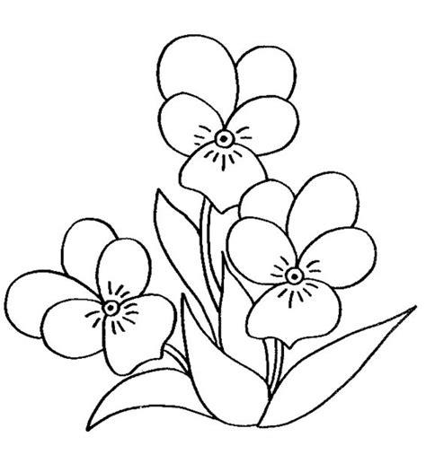 imagenes realistas para pintar dibujos de flores para colorear