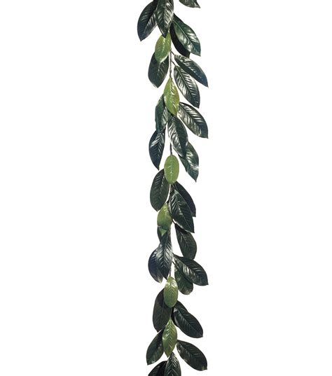 The Home Decorating Company Coupons by 6 Magnolia Leaf Garland With 44 Lvs Green Jo Ann