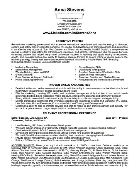 linkedin application resume and cv for success pmba