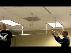 suspended ceiling track how to install a suspended cubicle track and curtain by