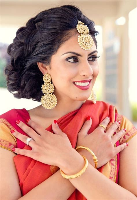 Hindu Bridal Hairstyles For Hair by New South Indian Bridal Hairstyles For Wedding