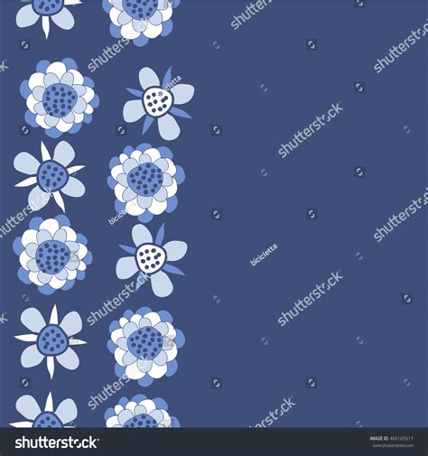 hole pattern en francais pattern vertical stylized floral motif hole stock vector