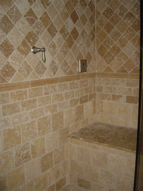 brown pattern tiles the most suitable bathroom floor tile ideas for your