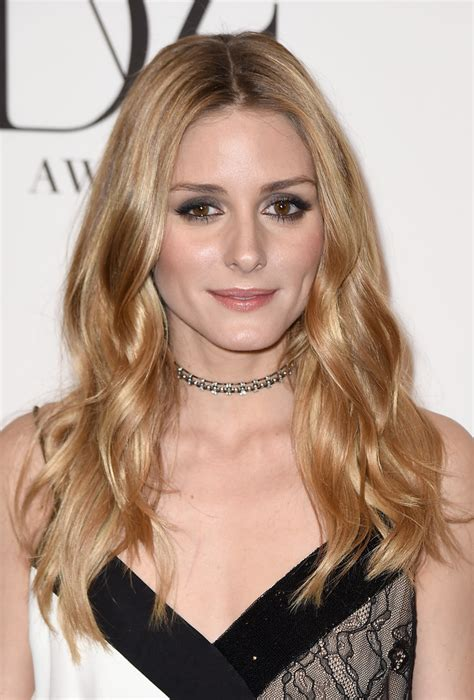 dirty blonde actresses under 30 olivia palermo s center parted waves the most gorgeous