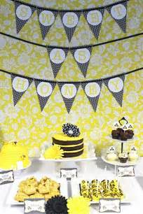 Bumble Bee Themed Baby Shower - baby shower bumble bee decorating ideas baby shower decoration ideas