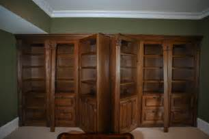 Adding Molding To Kitchen Cabinets hidden gun safe traditional home office atlanta by