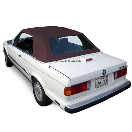 bmw 3 series convertible top: brown german classic canvas