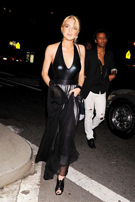 Lindsay Lohans Graces The Ny Fashion Week by Lindsay Lohan Picture 175 Mercedes Img New York
