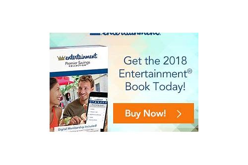 entertainer coupon 2018