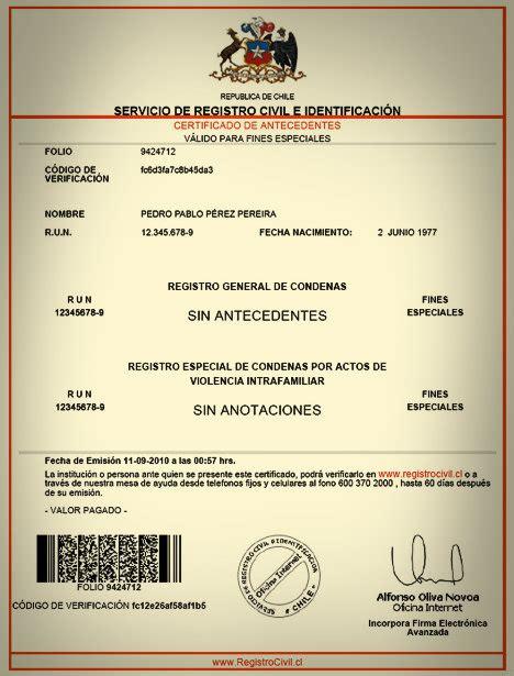 trmite de antecedentes no penales gratuitos c 243 mo solicitar el certificado de antecedentes penales en