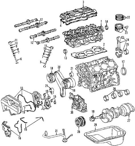 toyota 4runner parts diagram parts 174 toyota 4runner oem parts diagram