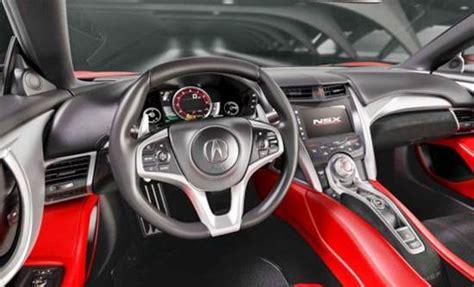 2018 nsx type r 2018 acura nsx type r review engine exterior interior price