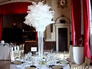 great gatsby 1920 s themed wedding centerpieces at the italian academy nyc youtube