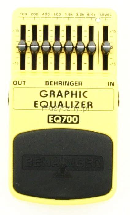 Behringer Efek Eq700 behringer eq700 equalizer efekt gitarowy