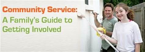 Community Service A Family S Guide To Getting Involved