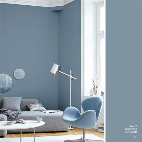 wandfarbe grau blau wohnzimmer ideen in blau m 246 belhaus dekoration
