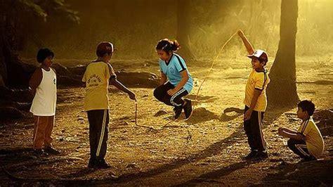 permainan outdoor  anak  layak dihidupkan