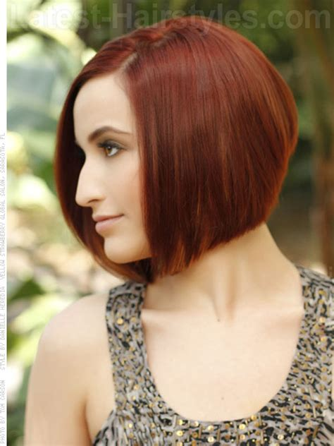 haircuts garden city wedge shape hair styling for a bob short hairstyle 2013