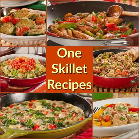 12 easy one skillet recipe healthy skillet recipes the whole family will love