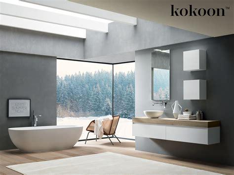 domayne bathroom design introducing kokoon italian