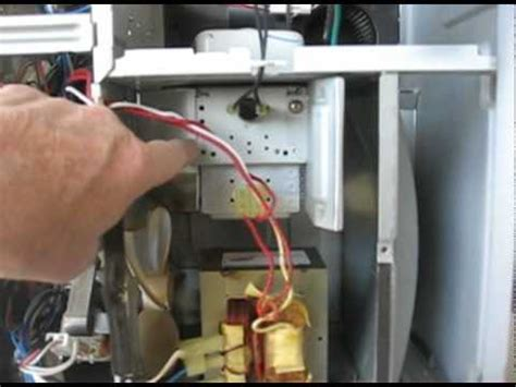 replace  magnetron   spacesaver ge microwavedv