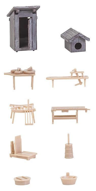 Faller Countrysite Decor Acceessories Miniature Building Ho Scale faller 180449 in the countryside decorative kit