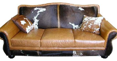 Cowhide Couches by Rustic Cowhide Sofas Cowhide Couches Better Than Free