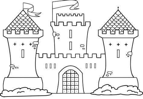 Coloriage Chateau Moyen Age 224 Imprimer Coloriage Chateau Princesse DisneyL