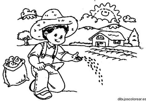 imagenes niños sembrando plantas imagenes para colorear de un ni 241 o que este sembrando imagui