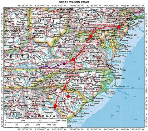 road map of carolina and virginia road map of carolina and virginia virginia map